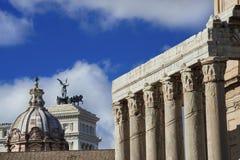 Romańscy forum zabytki zdjęcia stock