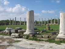 Romańscy szczątki przy Cypr obrazy stock