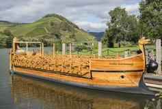 Romańska łódź Obrazy Royalty Free
