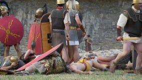 Romańska Galijska wojna zbiory wideo