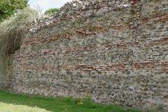 Romańska miasteczko ściana Obrazy Royalty Free