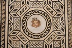 Romańska mozaika w Chrześcijańskim królewiątka Alcazar, Hiszpania Zdjęcie Royalty Free