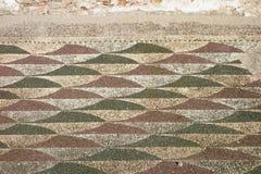 Romańska mozaiki podłoga Obrazy Royalty Free
