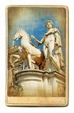 Romańska rzeźba obraz royalty free