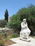 Romańska statua w Gortys obraz stock