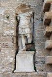Romańska statua w Ibiza Fotografia Stock