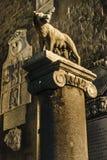 Romańska wadery rzeźba, Rzym, Włochy Obrazy Stock