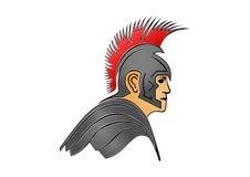 Romański żołnierz, gladiator, wojownik Obraz Royalty Free