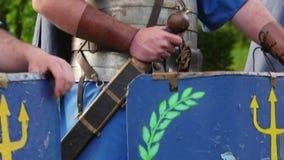 Romański żołnierza kostium zdjęcie wideo