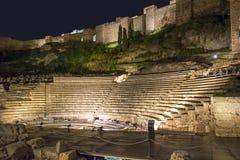 Romański Amphitheatre Obrazy Royalty Free