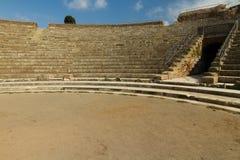 Romański amphitheatre przy Ostia Antica Włochy Zdjęcia Stock