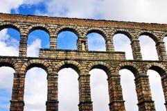 Romański Aquaduct fotografia royalty free