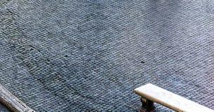 Romański brukowiec zdjęcia royalty free