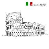 Romański Colosseum Zdjęcie Royalty Free