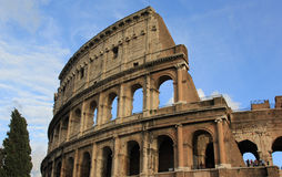 Romański Colosseum Obraz Royalty Free