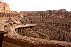 Romański Colosseum w Rzym Obraz Stock
