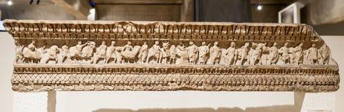Romański Doniosły Lion Francja Obraz Royalty Free
