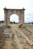 Romański Flavien most, święty, Francja Obraz Royalty Free