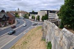 Romański forteca, Jork, Zjednoczone Królestwo Zdjęcia Stock