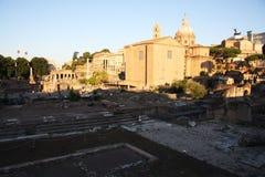 Romański forum Zdjęcie Stock