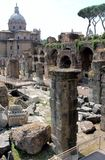 Romański forum, antyk Fotografia Stock