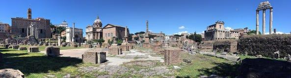Romański Forum Włochy - Rzym - Zdjęcie Stock