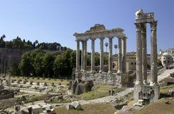 Romański Forum Włochy - Rzym - Obrazy Stock