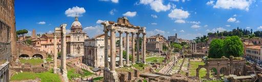 Romański forum w Rzym Zdjęcie Royalty Free