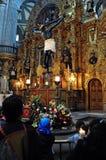 Romański katolicyzm w Mexico Zdjęcie Stock
