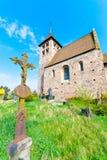 Romański kościół Zdjęcie Stock