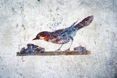 Romański ptak fotografia royalty free