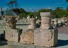 Romański Szpaltowy szczątek Fotografia Royalty Free