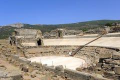 Romański teatr Baelo Claudia, Tarifa, Cadiz prowincja, Hiszpania fotografia royalty free