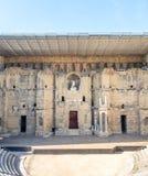 Romański teatr pomarańcze, Francja Fotografia Royalty Free