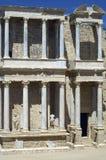 Romański teatr zdjęcia royalty free