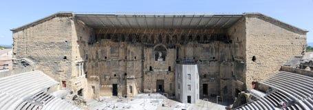 Romański teatr w pomarańcze, Południowy Francja obrazy royalty free