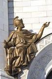 Romański wojownik Zdjęcie Royalty Free