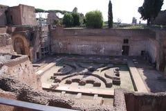 Romański Zapadnięty ogród Zdjęcie Royalty Free