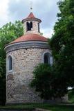 Romańszczyzna kościół dalej Fotografia Royalty Free