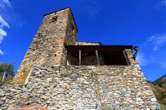 Romańszczyzna kościół w Os De Civis, Hiszpania Zdjęcie Royalty Free