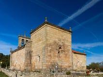 Romańszczyzna kościelny Santiago de Taboada Zdjęcia Stock