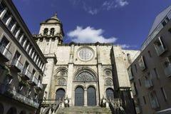 Romańszczyzny katedra Ourense, Hiszpania obrazy stock