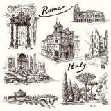 roma ilustração stock