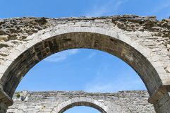 Roma kloster, centre of Gotland, Romakloster, Sweden stock photography