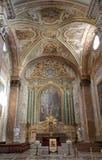 Roma - altare dal ANG di degli della Santa Maria della basilica Fotografia Stock