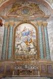 Roma - altare dall'angelo di degli della Santa Maria della basilica Fotografia Stock