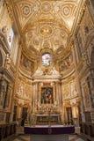 Roma - altare del anima del dell della Santa Maria della chiesa Immagini Stock Libere da Diritti