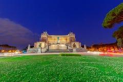 roma Altare della patria Fotografia Stock Libera da Diritti