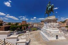 roma Altare della patria Fotografie Stock