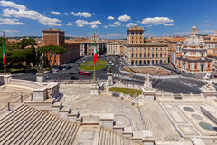 roma Altare della patria Immagine Stock